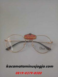 Kacamata Korea Jogja Kekinian Pria Wanita Bulat